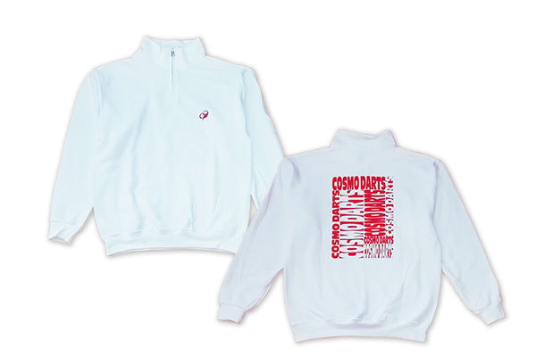 JERZEES x COSMO DARTS Half zip sweatshirts
